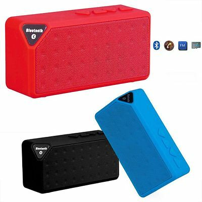 3.0 Boombox Wireless Bluetooth Stereo Speaker Portable For Universal Smartphone