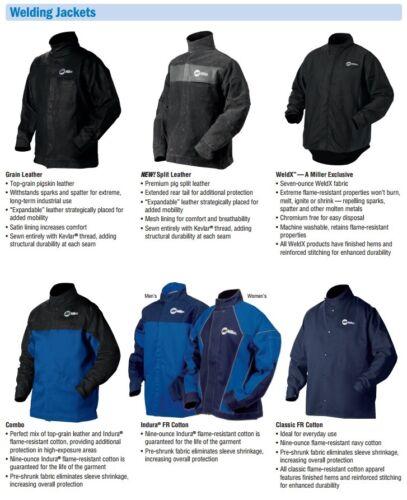 Miller Split Leather Welding Jacket-X-Large 273215