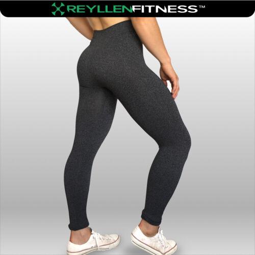 Reyllen™ UK Seamless High Waist Quality Leggings for Fitness Gym Yoga Casual