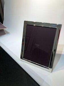 Asprey Hallmarked Sterling Silver Plain Frame 10 X 8 Brand New In Box Ebay
