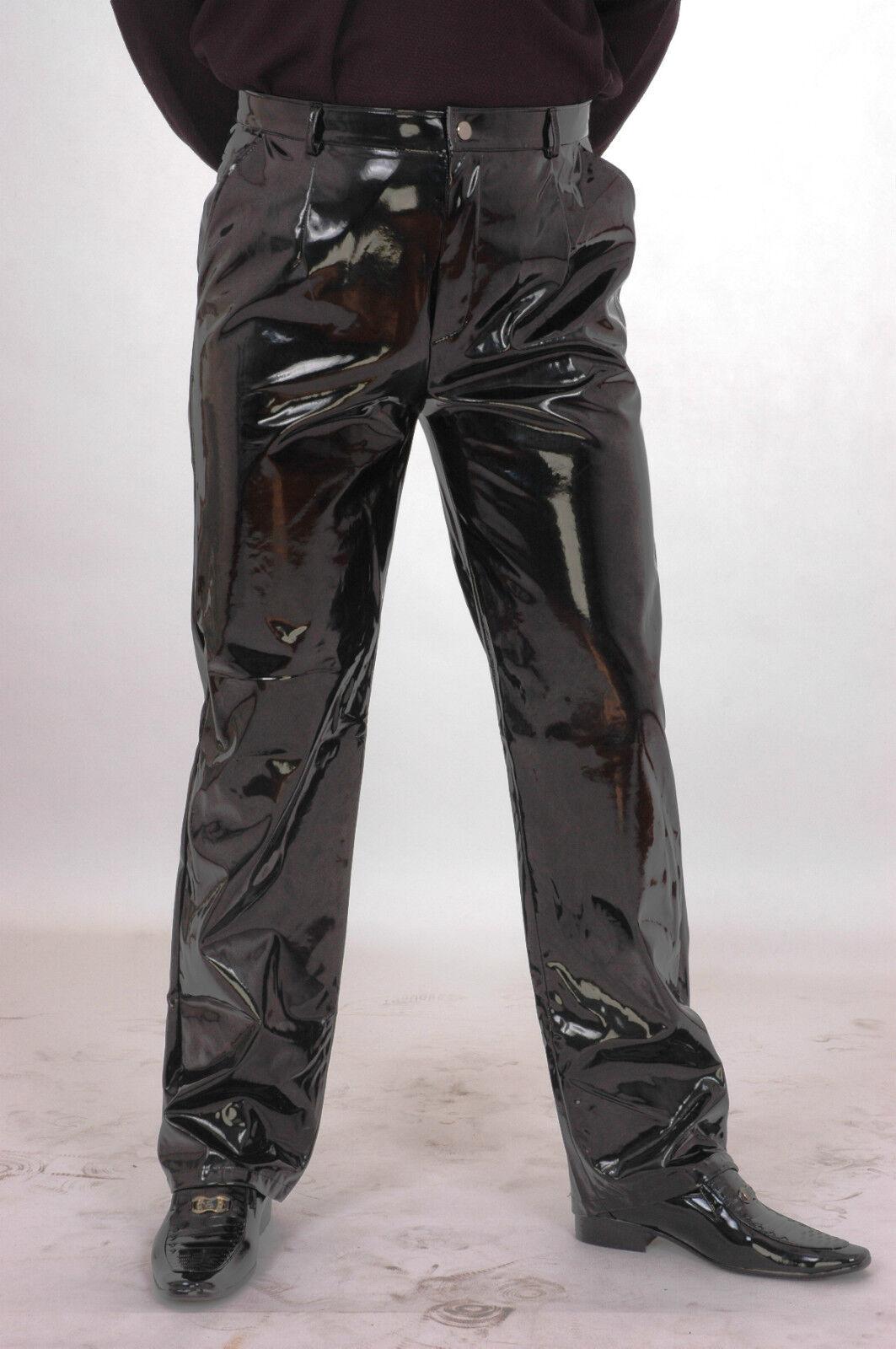 Lackina-Lack Hose im Jeans Style für Ihn