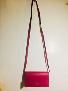 11a3bcdb4084 New Coach Foldover Clutch Crossbody In Pebble Leather F54002 Bright ...