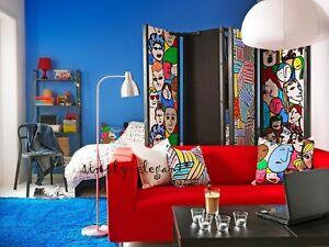 IKEA KLIPPAN Cover GRANAN RED Klippan Loveseat Sofa Quality Fabric Slipcover