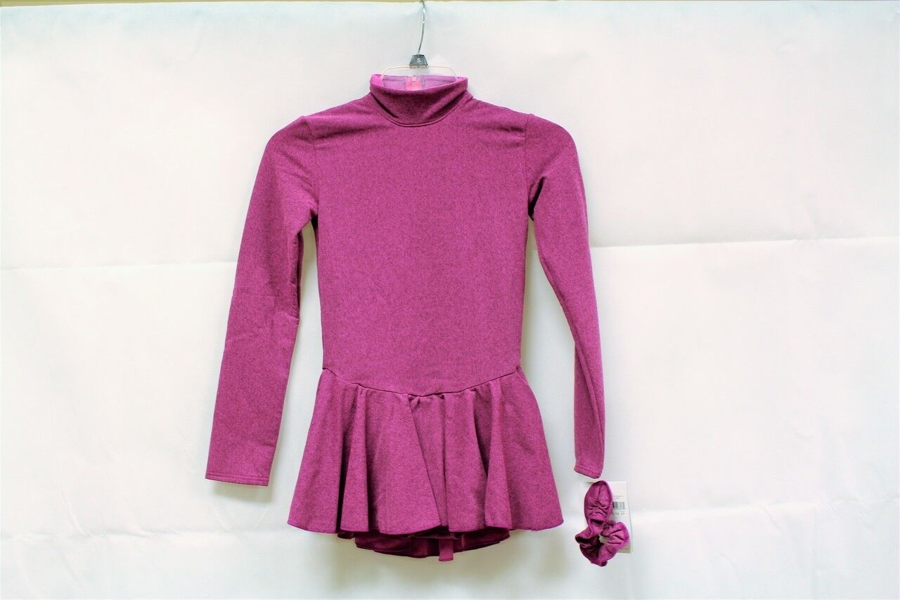 Mondor Model 4333 Skating Dress - Heather Pink