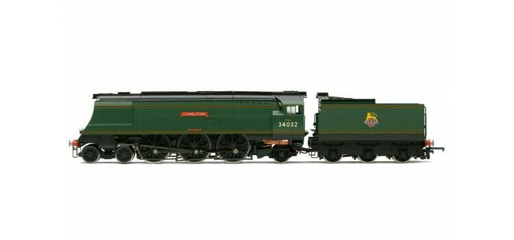 Hornby R3445 Late BR 4-6-2 West Country Class  CAMELFORD  34032 DCC Ready