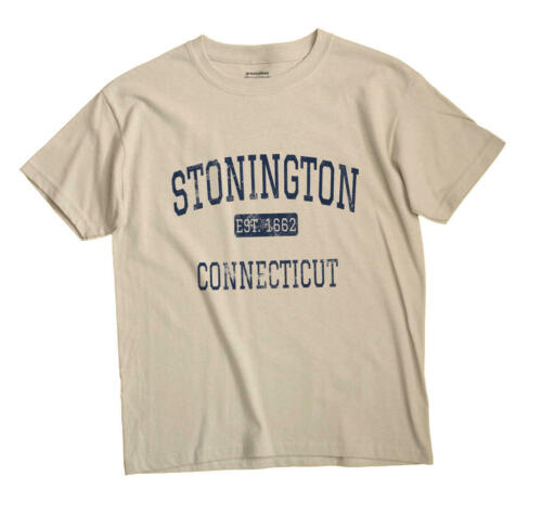 Stonington Connecticut CT T-Shirt EST