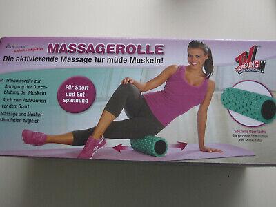 Offizielle Website Massagerolle Für Müde Muskeln, Noch Neu In Ovp