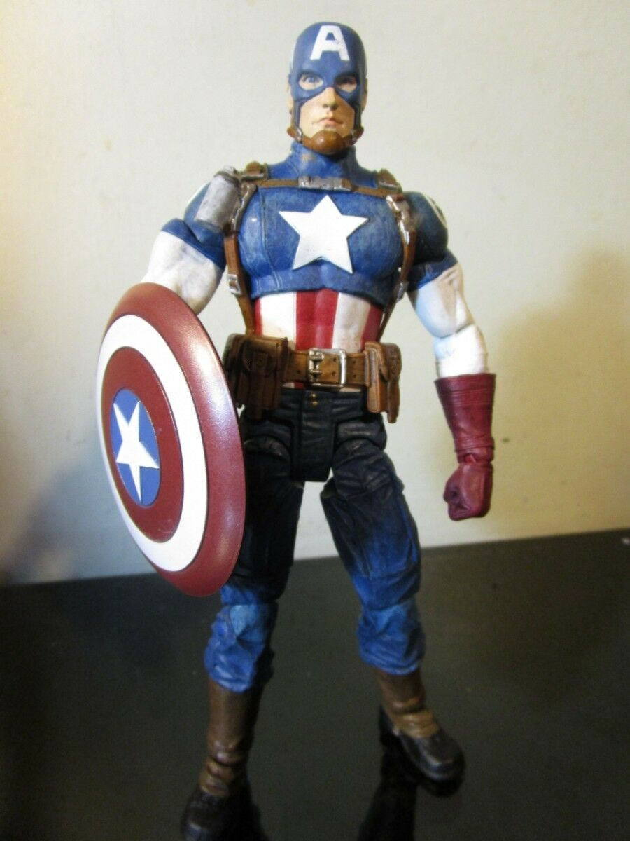 Marvel Captain America Action Figure - Marvel Select - 7 Inch Loose