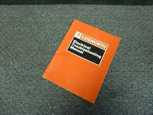 1989 1990 Kenworth T400a Truck Electrical Troubleshooting Wiring Diagram Manual Ebay