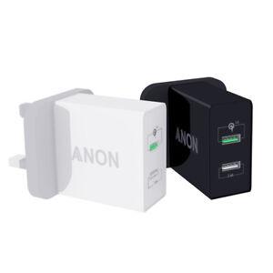 Genuine ANON Secteur Rapide Chargeur Plug USB UK Pour GOOGLE PIXEL 2 3 XL