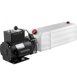 NEW-240V-2200-Watt-14L-Tank-Car-Hoist-Hydraulic-Pump-Car-Lift-Power-Unit