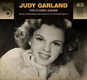 Judy-Garland-FIVE-5-CLASSIC-ALBUMS-At-Carnegie-Hall-A-STAR-IS-BORN-New-4-CD