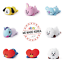 BT21-Character-Soft-Lying-Pillow-Cushion-50cm-7types-Official-K-POP-Authentic-MD miniature 1