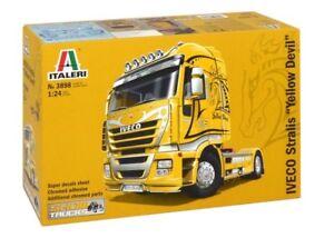 Italeri 1/24 Iveco Stralis    # 3898  yellow Devil