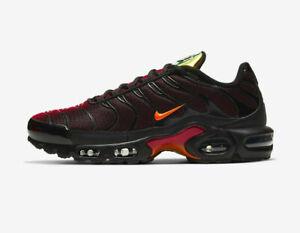 Invitación Resentimiento Simplemente desbordando  Nike Air Max Plus TN Tuned Black/ Magma Orange Men's Trainers UK 6-12 | eBay