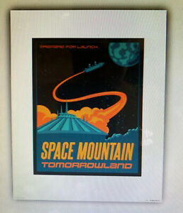 Disney Parks Spaceship Earth  Attraction Poster Art Print 16 x 20 More Sizes