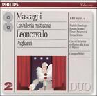 Mascagni: Cavalleria Rusticana; Leoncavallo: Pagliacci (CD, Dec-1996, 2 Discs, Philips)