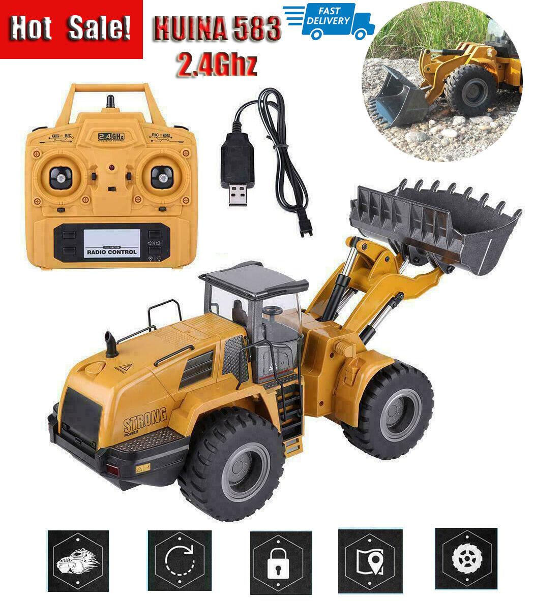 Huina583 1583 RC rueda  loader Half Metal Excavator Electric Engineering Vehicle  i nuovi marchi outlet online