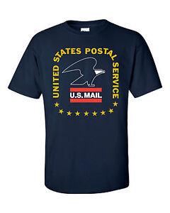 Usps postal post office t shirt vintage 3 color postal for Usps t shirt shipping