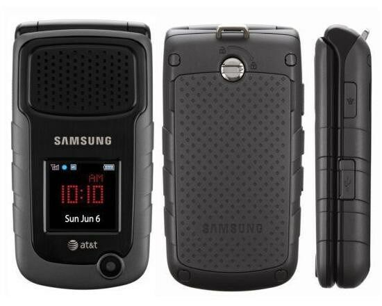 samsung rugby ii samsung rugby black at t cellular phone ebay rh ebay com AT&T Wireless Flip Phones AT&T Rugged Flip Phones