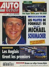 AUTO HEBDO n°977 du 5 Avril 1995 ALFA GTV 2.0 TB LOTUS ELAN S2 WESTFIELD ZEi