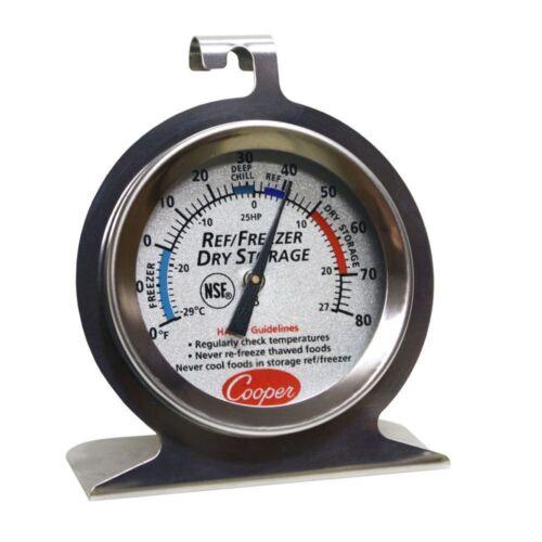 2 pièces COOPER ATKINS 25HP Réfrigérateur//congélateur//Stockage à Sec Thermomètre Nsf