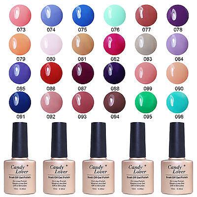 2016 New Fashion Pro UV Gel Nail Polish Soak Off Lacquer Varnish Manicure 10ML