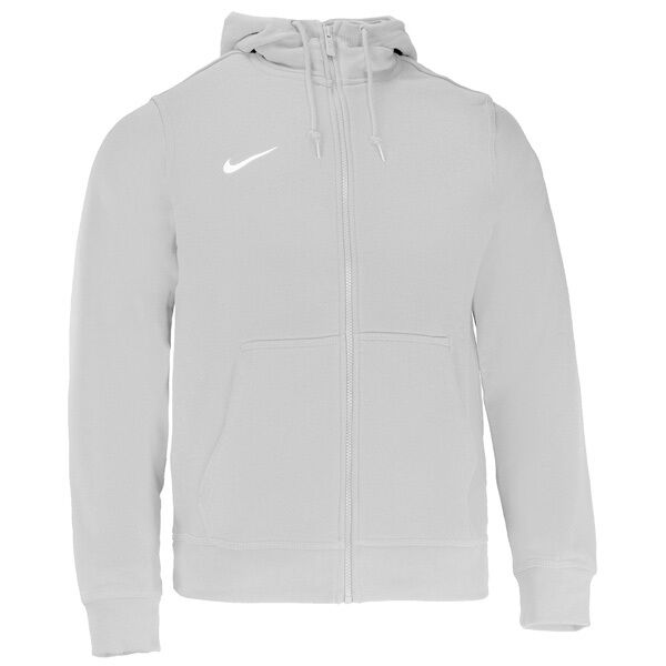 1e63fc379ae94 Nike Sweat a capuche Team Club Full-zip Hoody - Gris Foncé Chiné L   eBay
