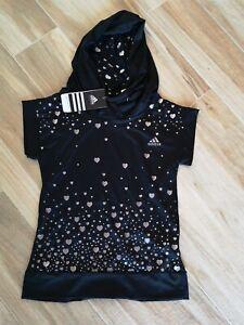 maglia adidas nera donna felpa