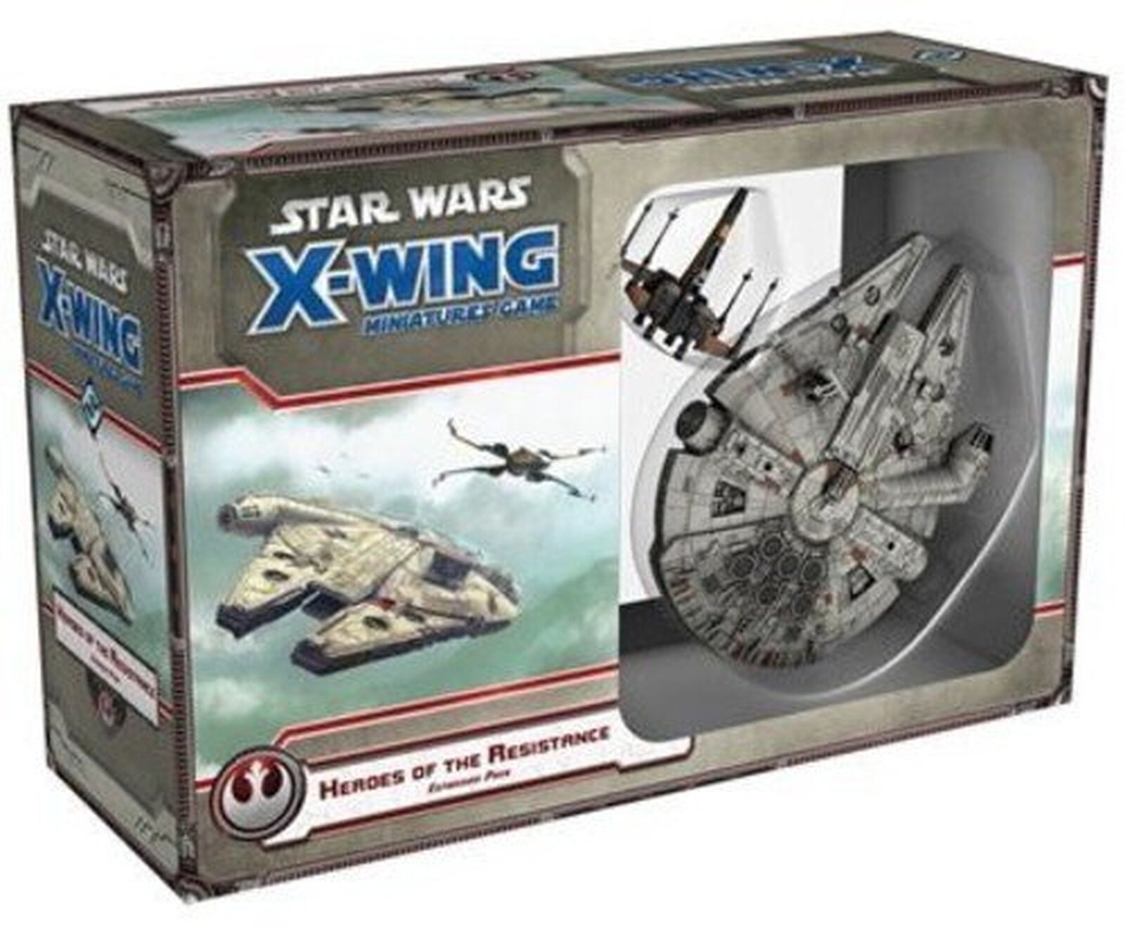 Star Wars X-wing  Heroes Of The Resistance Game Expansion P