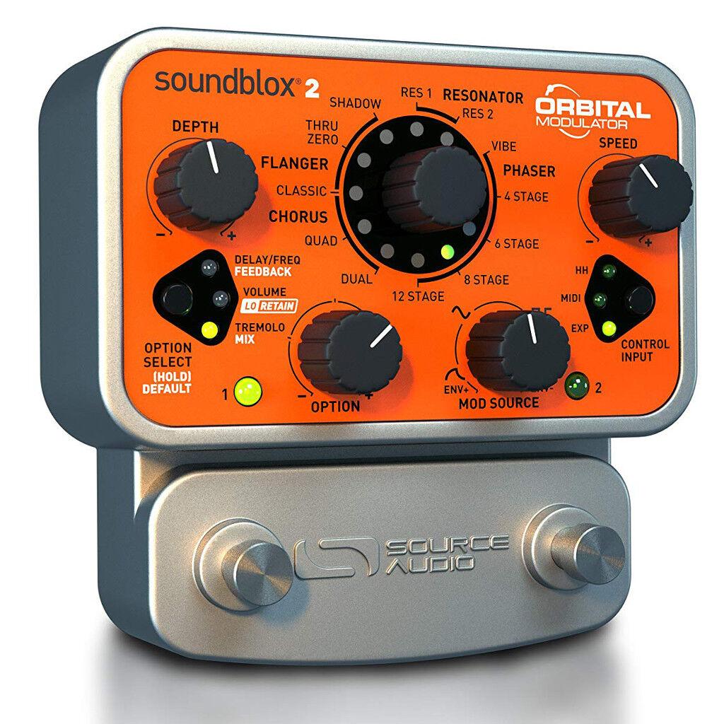 Source Audio Soundblox 2 Orbital Modulator (SA226) Guitar Effects Pedal