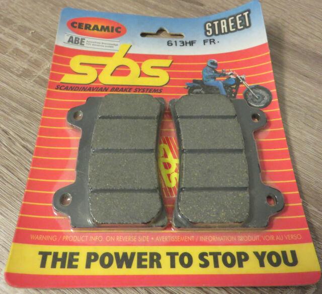 SBS Front Brake Pads 613 HF Yamaha Srx600 Fzr750 Tdm850 Trx850 Xjr1200 Fj1200
