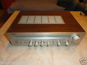 Yamaha-R-500-Classic-Vintage-Stereo-Tuner-Made-in-Japan-Netzteil-DEFEKT