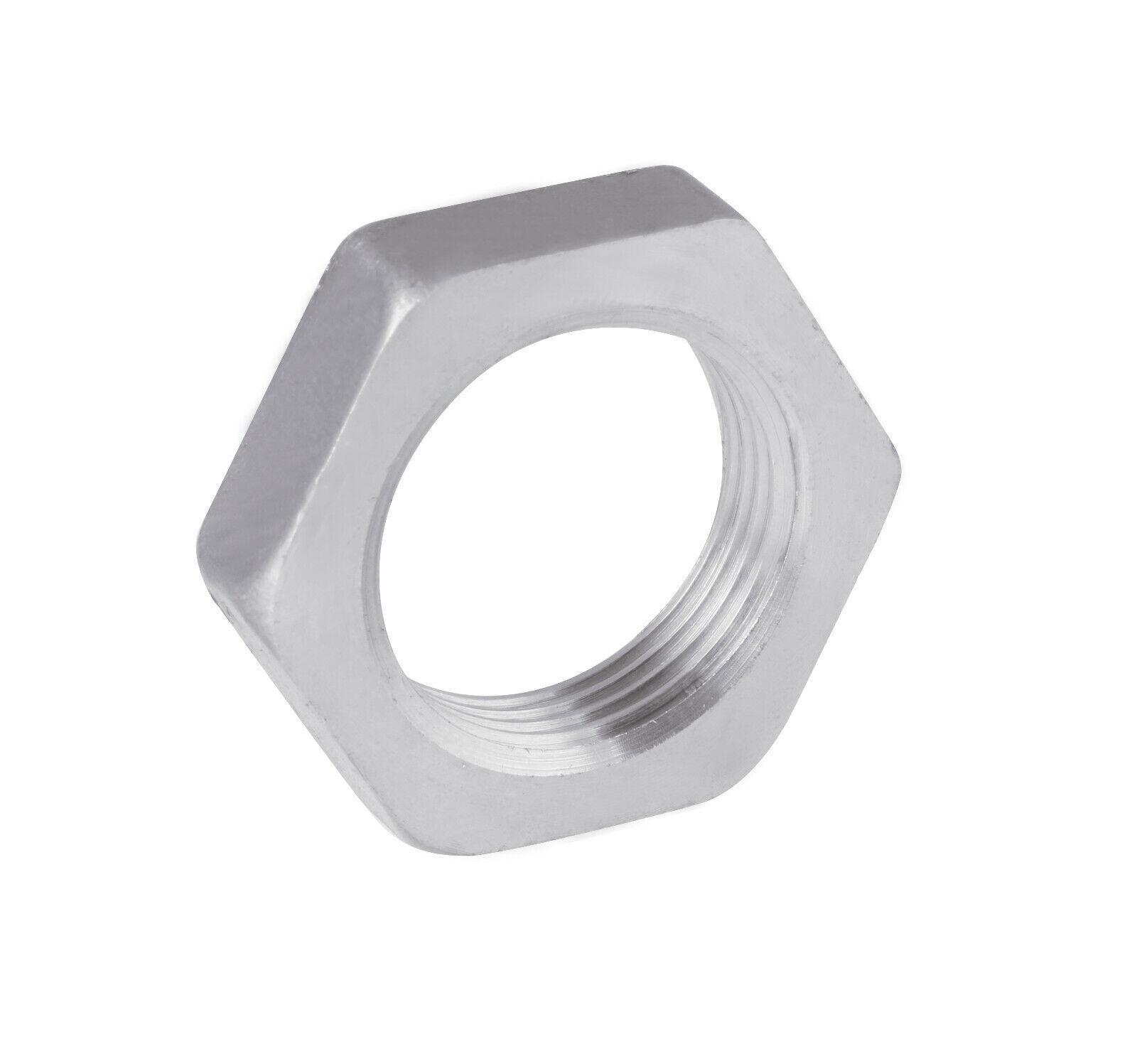 DIN431 Rohrmutter Zoll-Rohrgewinde Edelstahl A2 A4, Stahl 14H G1 2  bis G 1 1 4