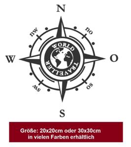 Details Zu Kompass Aufkleber Windrose Aufkleber Auto Caravan Wohnmobil Wohnwagen 2051