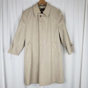 0ac8a813d78cd Image is loading Botany-500-Summer-Weight-Placket-Front-Over-Trench-