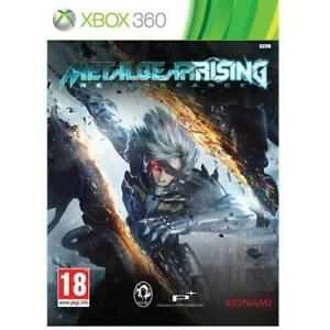 METAL-GEAR-RISING-REVENGEANCE-Xbox-One-Xbox-360-Game-NEW-Sealed-PAL-UK-X360