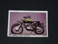 #66 GARELLI JUNIOR CROSS 50 ITALIA MOTO 2000 PANINI EDITIONS DE LA TOUR 1973