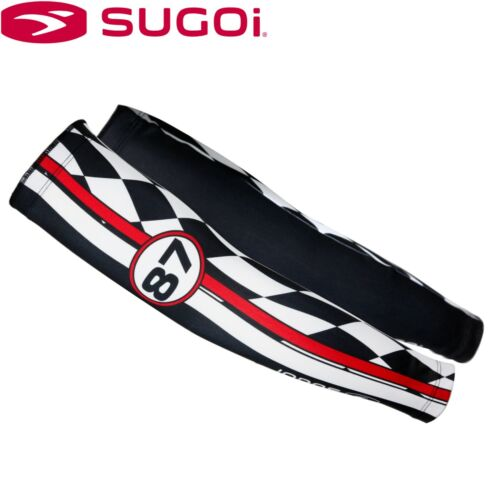 Sugoi Herbie Racing Print Thermal Cycling Arm Warmers Sizes S L M