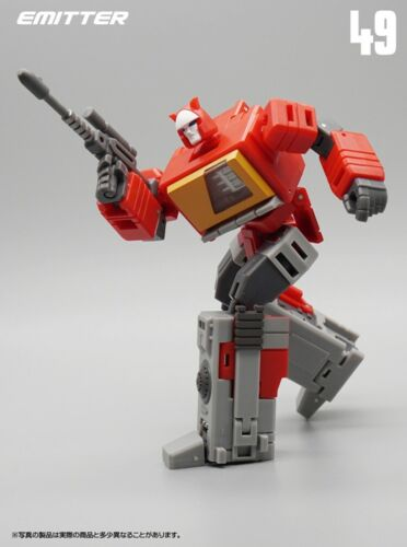 MFT Transformation MF-49 Blaster Emitter Recorder Mode Pocket War MINI Figure