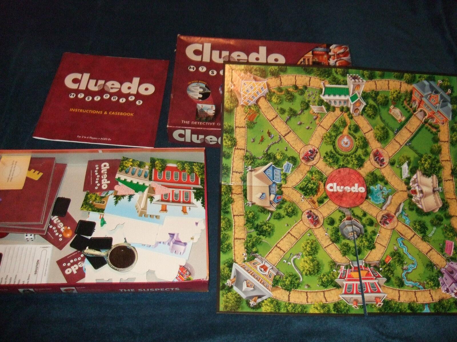 CLUEDO CLUEDO CLUEDO MYSTERIES--FAMILY BOARD GAME BY PARKER 2006 503a81