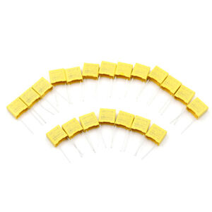 20Pcs 0.1UF X2 104 100NF 275V 10mm Regulation DIP Polypropylene Film CapacitorSM