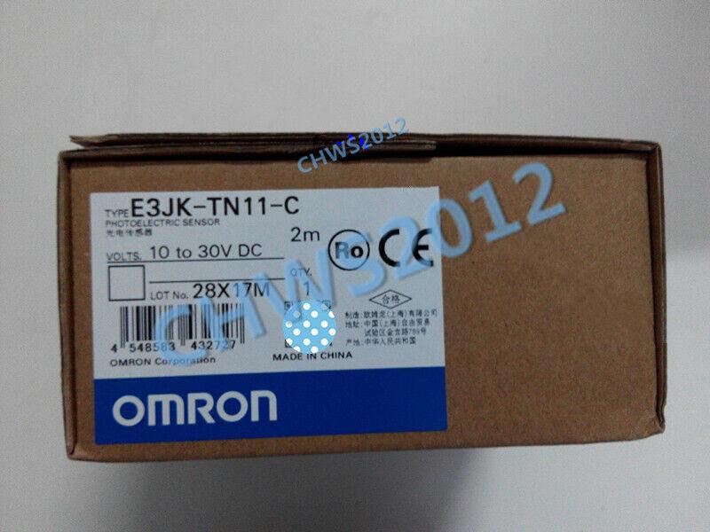 1 PCS NEW IN BOX OMRON photoelectric sensor E3JK-TN11-C