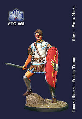 """Ambizioso La Fortezza 54mm Metal Kit """"roman Tribune - Tiberio Period"""" No Box! Sto-058 Belle Arti"""