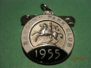 Sandown-Park-Horse-Racing-Members-Badge-1955-VGC