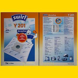 5-Beutel-SWIRL-Y-201-MicroPor-Staubsaugerbeutel-Y201-frei-Haus-per-Warensendung