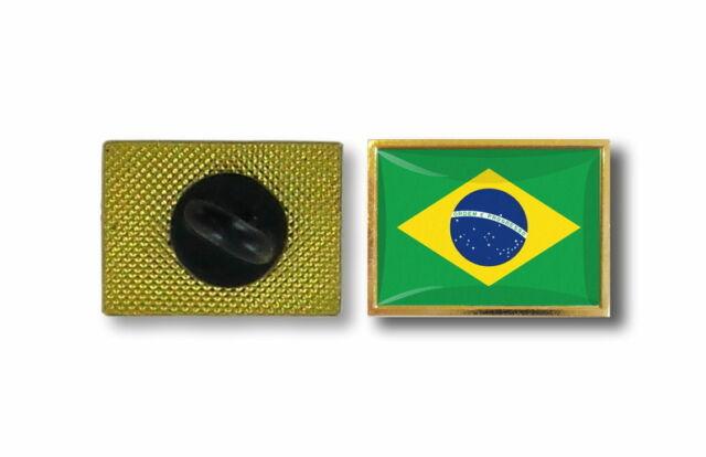 pins pin's flag national badge metal lapel backpack hat button vest brazil