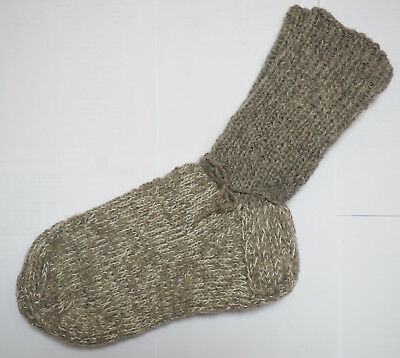 Modestil Natural Sheep Wool Hand Made Knitted Socks Warm Thick Ausgereifte Technologien