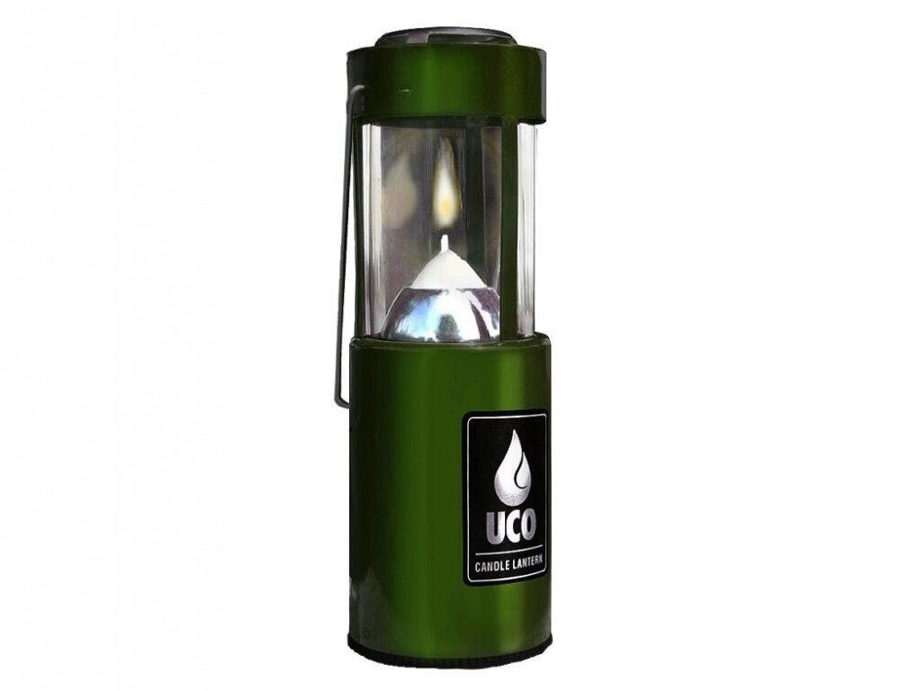 UCO Candle Lantern Aluminium Anodized  Green  various sizes