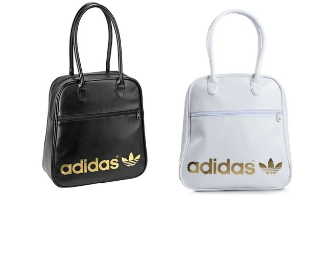 ADIDAS AC BOWLING BAG - WHITE/GOLD G74935 or BLACK/GOLD G74934 - BRAND NEW